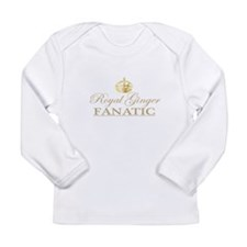 Royal Ginger Fanatic Long Sleeve Infant T-Shirt