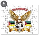 Mozambique Football Design Puzzle