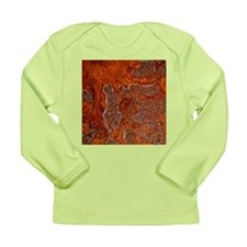 Rust seen on a steel sheet - Long Sleeve Infant T-