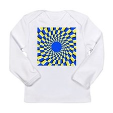 Peripheral drift illusion - Long Sleeve Infant T-S
