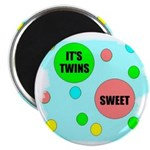 IT'S TWINS SWEET Magnet