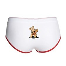 Welsh Terrier With Squirrel Women's Boy Brief