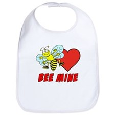 Bee Mine Valentine Bib