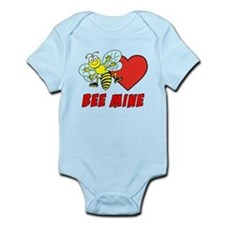 Bee Mine Valentine Infant Bodysuit