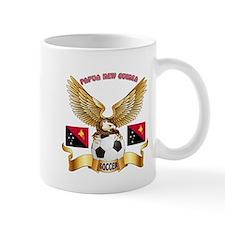 Papua New Guinea Football Design Mug