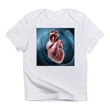 Human heart, artwork - Infant T-Shirt