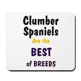 Clumber Spaniel Best Breed Mousepad