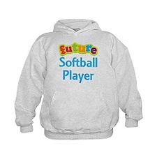 Future Softball Player Hoodie
