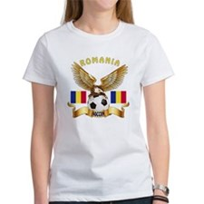 Romania Football Design Tee