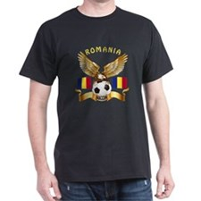 Romania Football Design T-Shirt