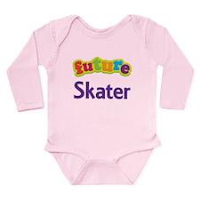 Future Skater Long Sleeve Infant Bodysuit