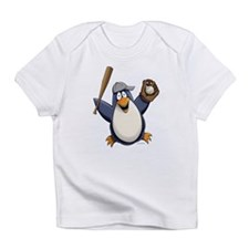 Baseball Penguin Infant T-Shirt