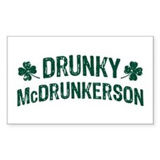 Drunky McDrunkerson Decal