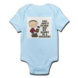 Daddys a Soldier Infant Bodysuit