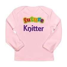 Future Knitter Long Sleeve Infant T-Shirt