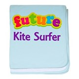 Future Kite Surfer baby blanket