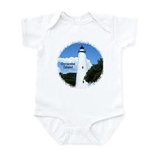 Ocracoke Lighthouse Infant Bodysuit
