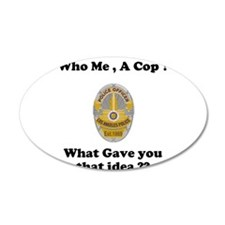 LAPD ? Decal Wall Sticker