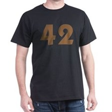 42 (Brown) T-Shirt