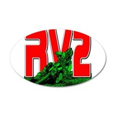 rv2red Wall Decal