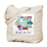 Under The Sea Friends Tote Bag