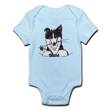 Border Collie Caricature Infant Bodysuit