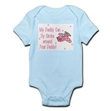 My Daddy can fly circles around Body Suit