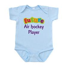 Future Air Hockey Player Infant Bodysuit