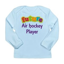 Future Air Hockey Player Long Sleeve Infant T-Shir