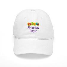 Future Air Hockey Player Baseball Cap