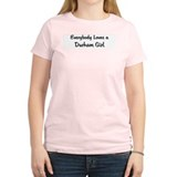 Durham Girl Women's Pink T-Shirt
