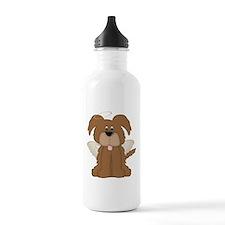 Angel Wings Halo Puppy Dog 2 Water Bottle