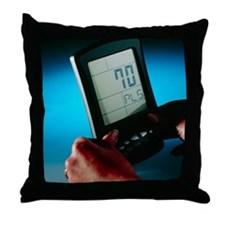 Heart rate monitor - Throw Pillow