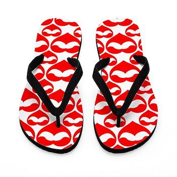 valentines flip flops