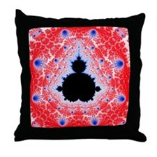 Mandelbrot fractal - Throw Pillow