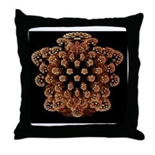 Mandelbulb fractal - Throw Pillow