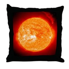 Solar prominence, SOHO image - Throw Pillow