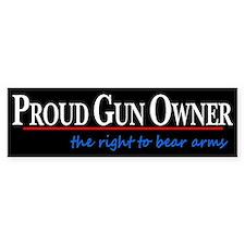 Proud Gun Owner Bumper Sticker