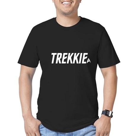 trekkie - white.fw.png Men's Fitted T-Shirt (dark)