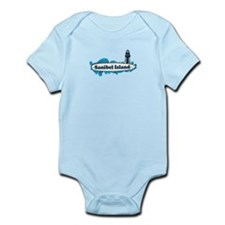 Sanibel Island - Surf Design. Infant Bodysuit