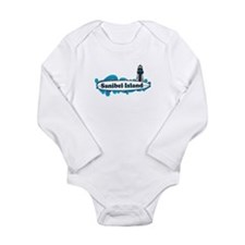 Sanibel Island - Surf Design. Long Sleeve Infant B