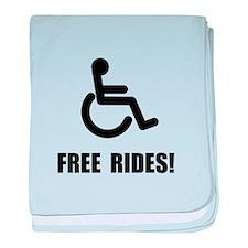 Handicap Free Rides baby blanket