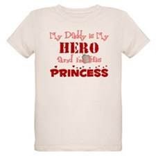 My Daddy is My Hero (red) T-Shirt