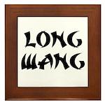 Long Wang Framed Tile