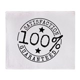 Satisfaction Guaranteed Throw Blanket