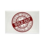 Sold Out Rectangle Magnet (100 pack)