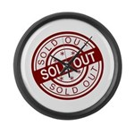 Sold Out Large Wall Clock