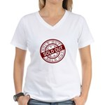Sold Out Women's V-Neck T-Shirt