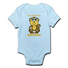 Monkey Business Stay Out Infant Bodysuit