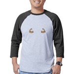 Caffeine Molecule Men's Fitted T-Shirt (dark)